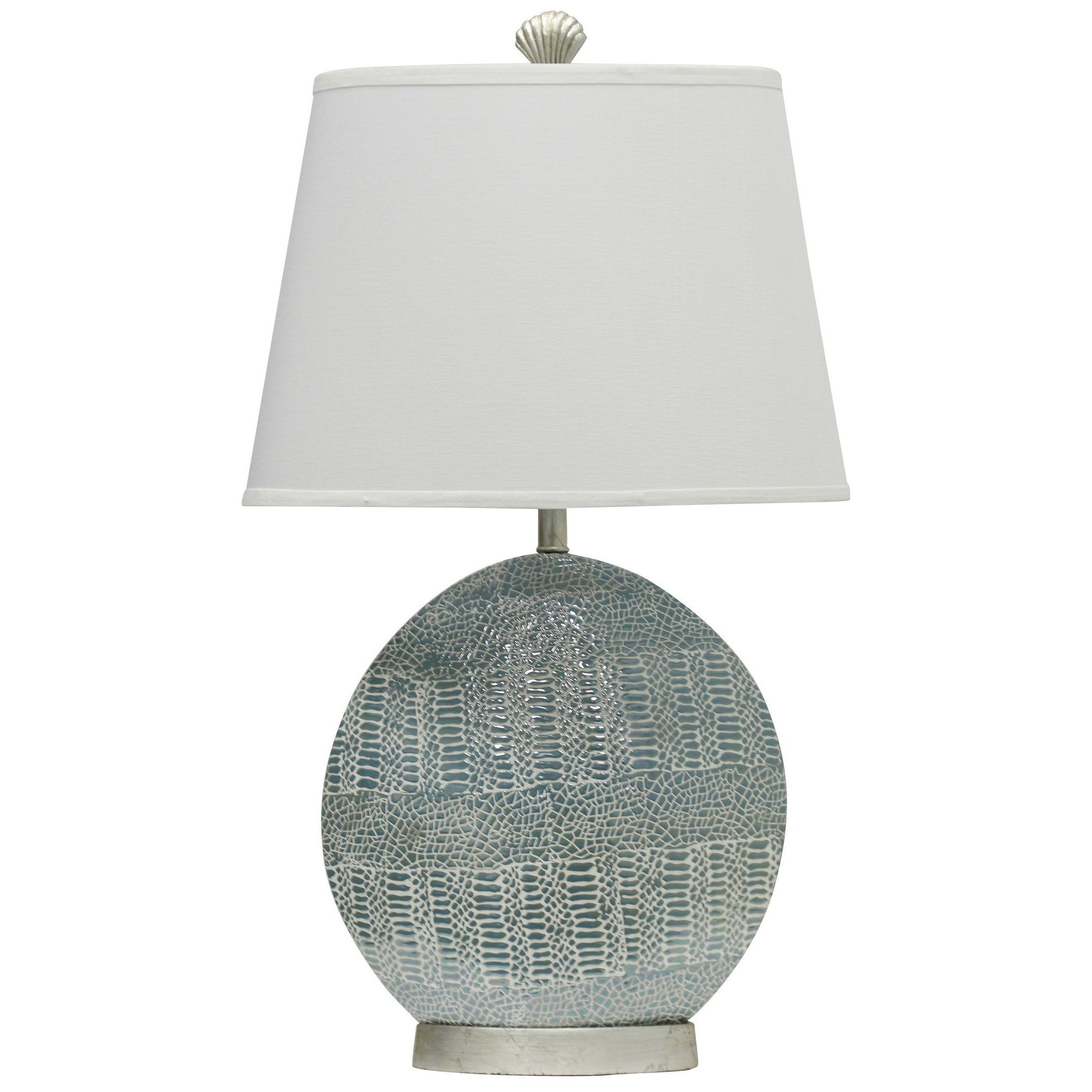 Lamps Crackled Ceramic Lamp by Jane Seymour by StyleCraft at Alison Craig Home Furnishings