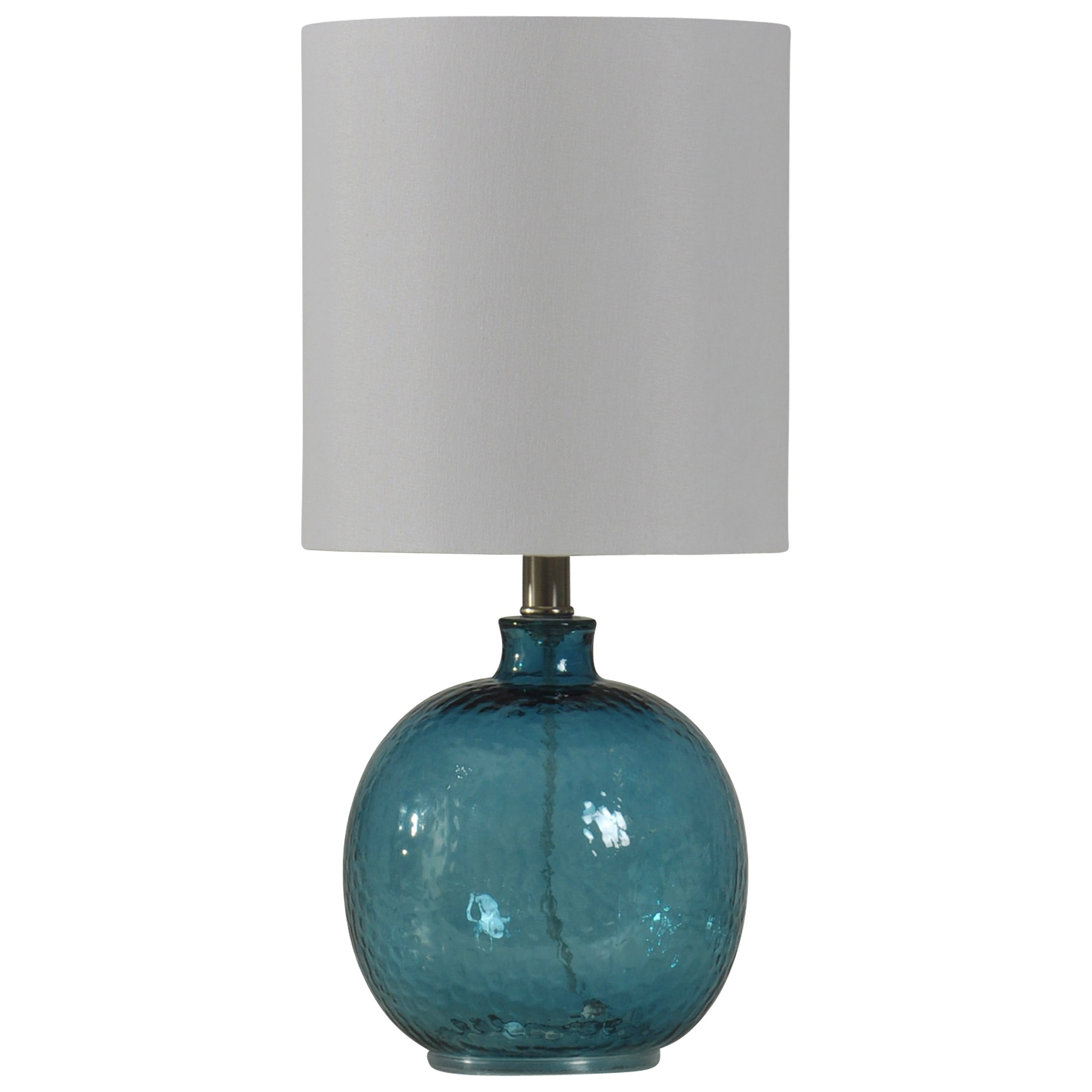 Lamps Mini Spanish Glass Ball Lamp by StyleCraft at Alison Craig Home Furnishings