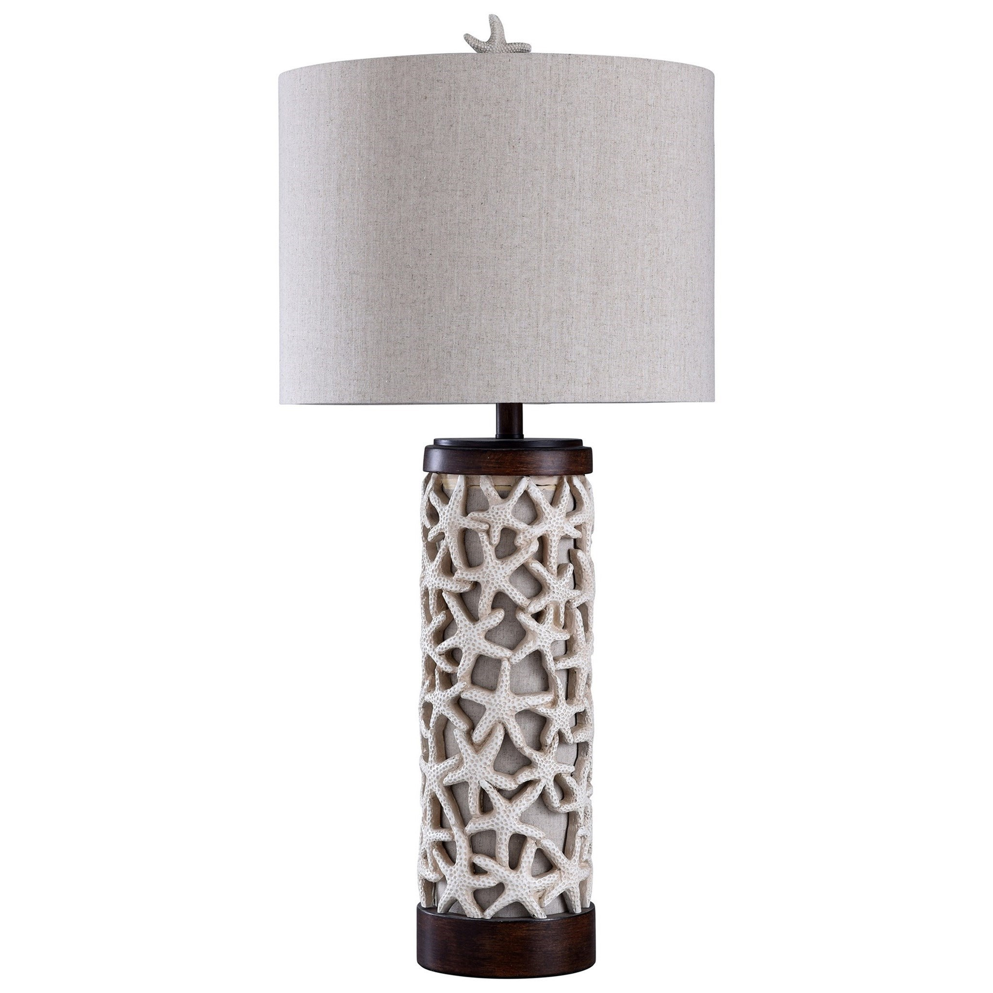 Lamps Sand Shell Lamp by StyleCraft at Michael Alan Furniture & Design