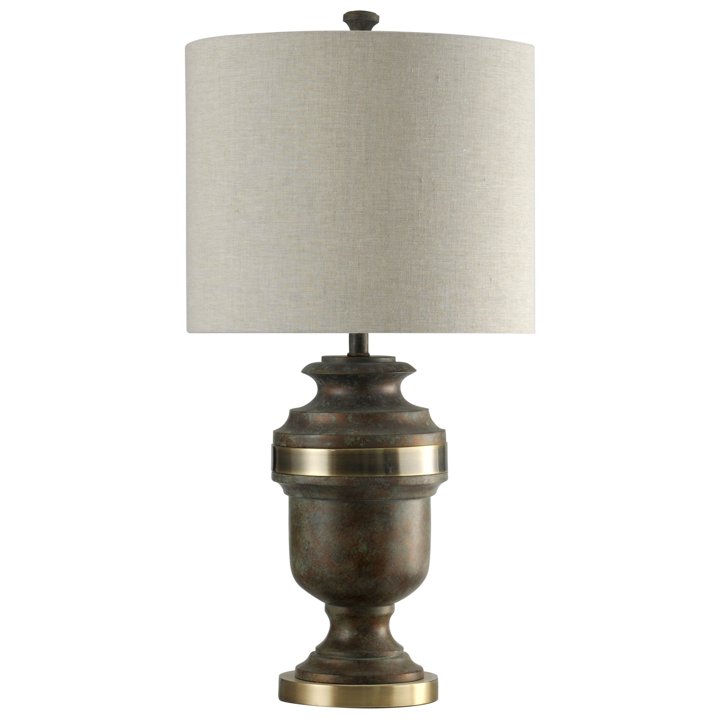 Lamps Resin And Steel Table Lamp by StyleCraft at Alison Craig Home Furnishings
