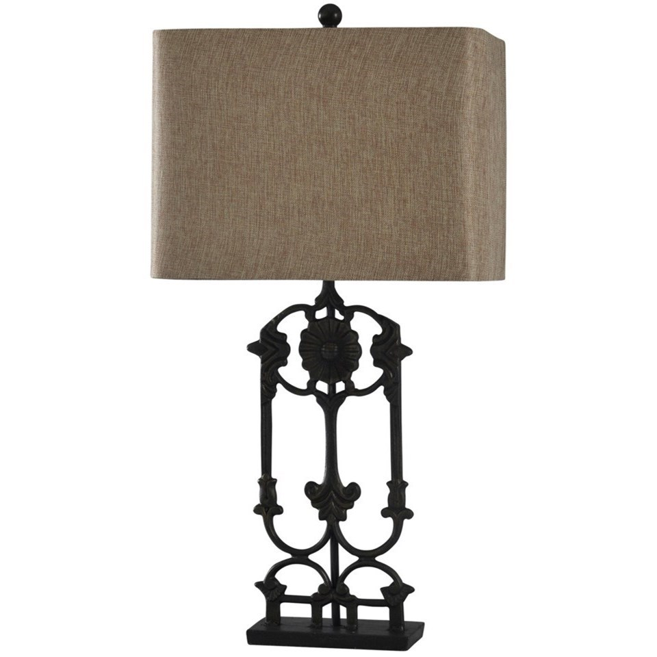 Lamps Steel Table Lamp by StyleCraft at Alison Craig Home Furnishings