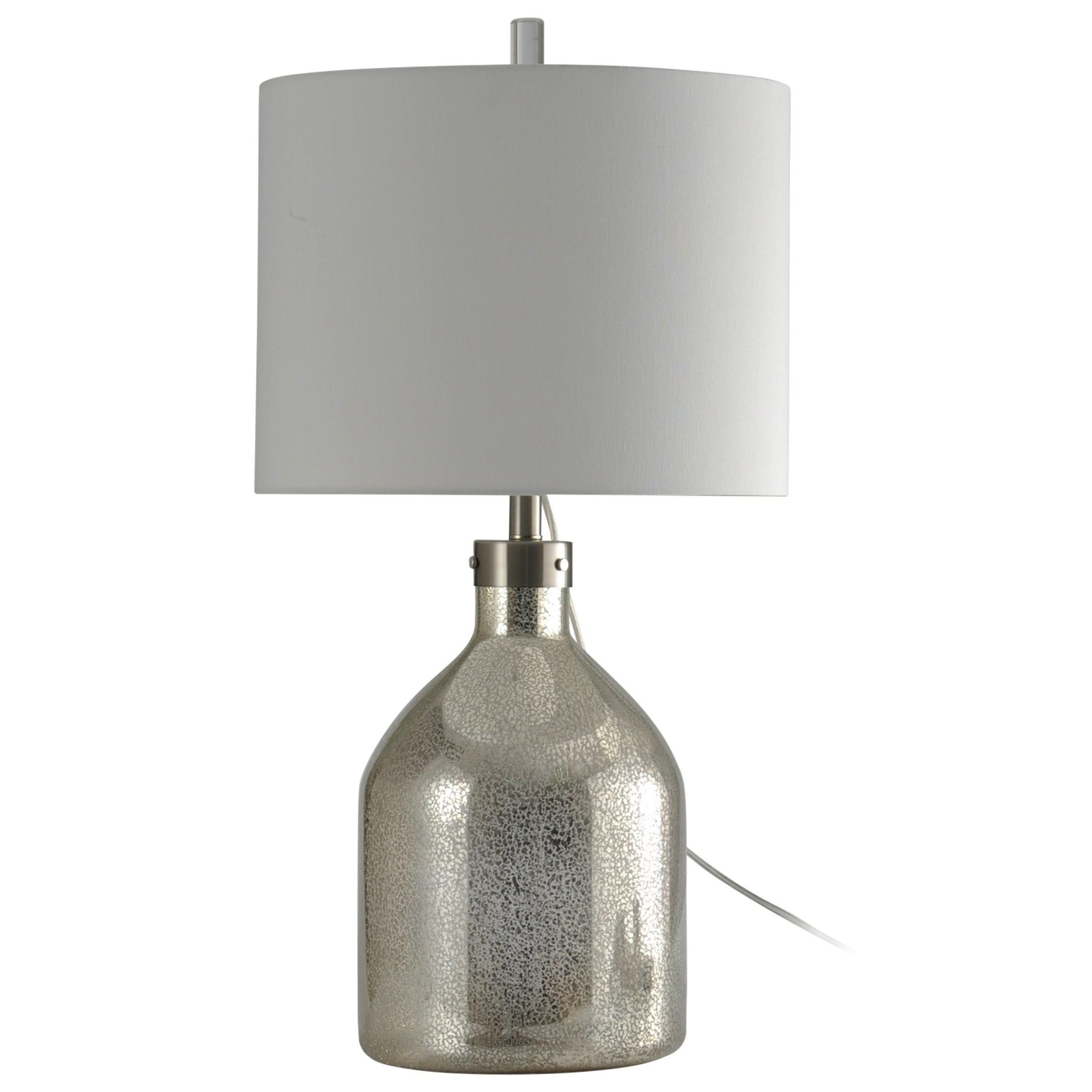 Lamps Mercury Glass Table Lamp by StyleCraft at Michael Alan Furniture & Design
