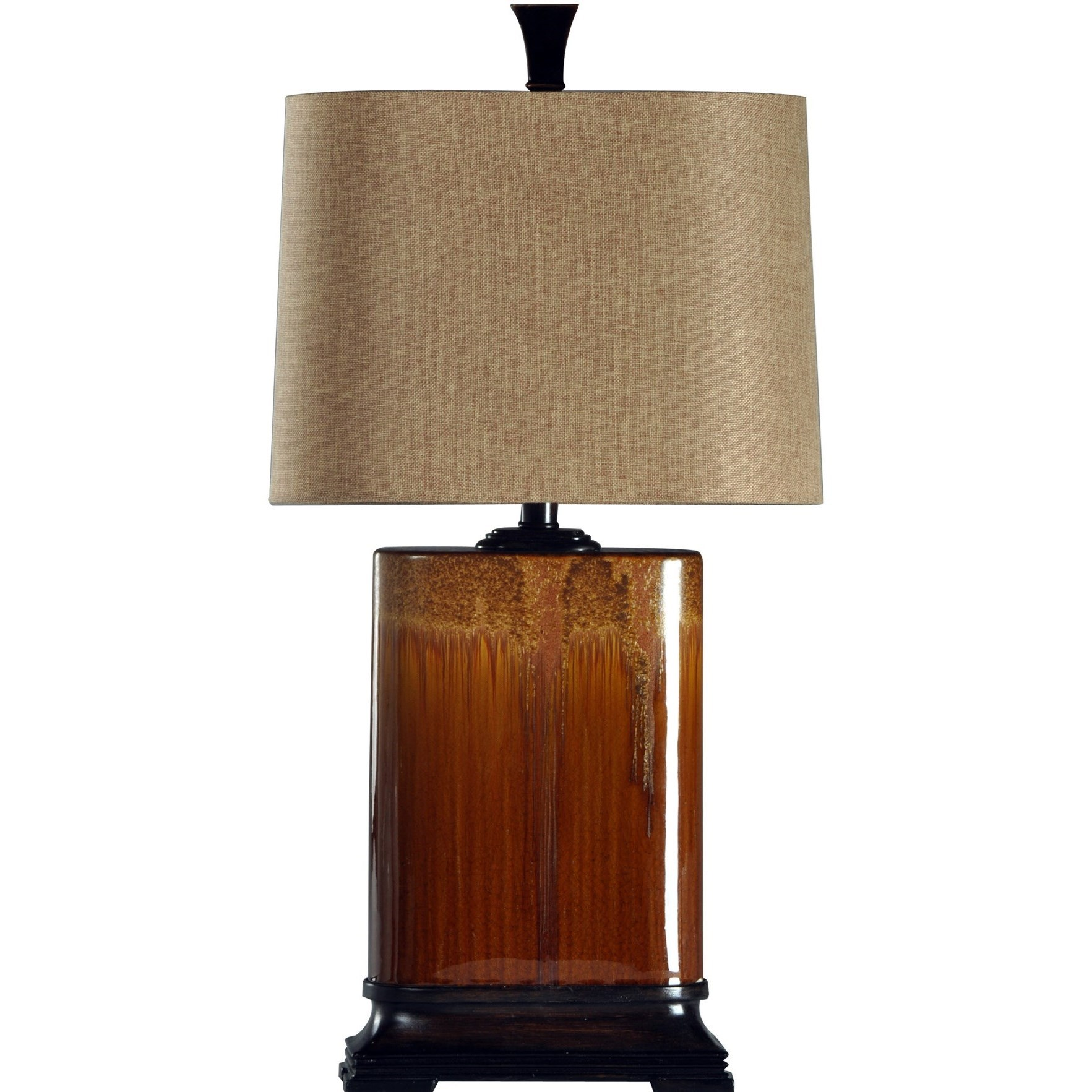 Lamps Rectangular Table Lamp by StyleCraft at Alison Craig Home Furnishings