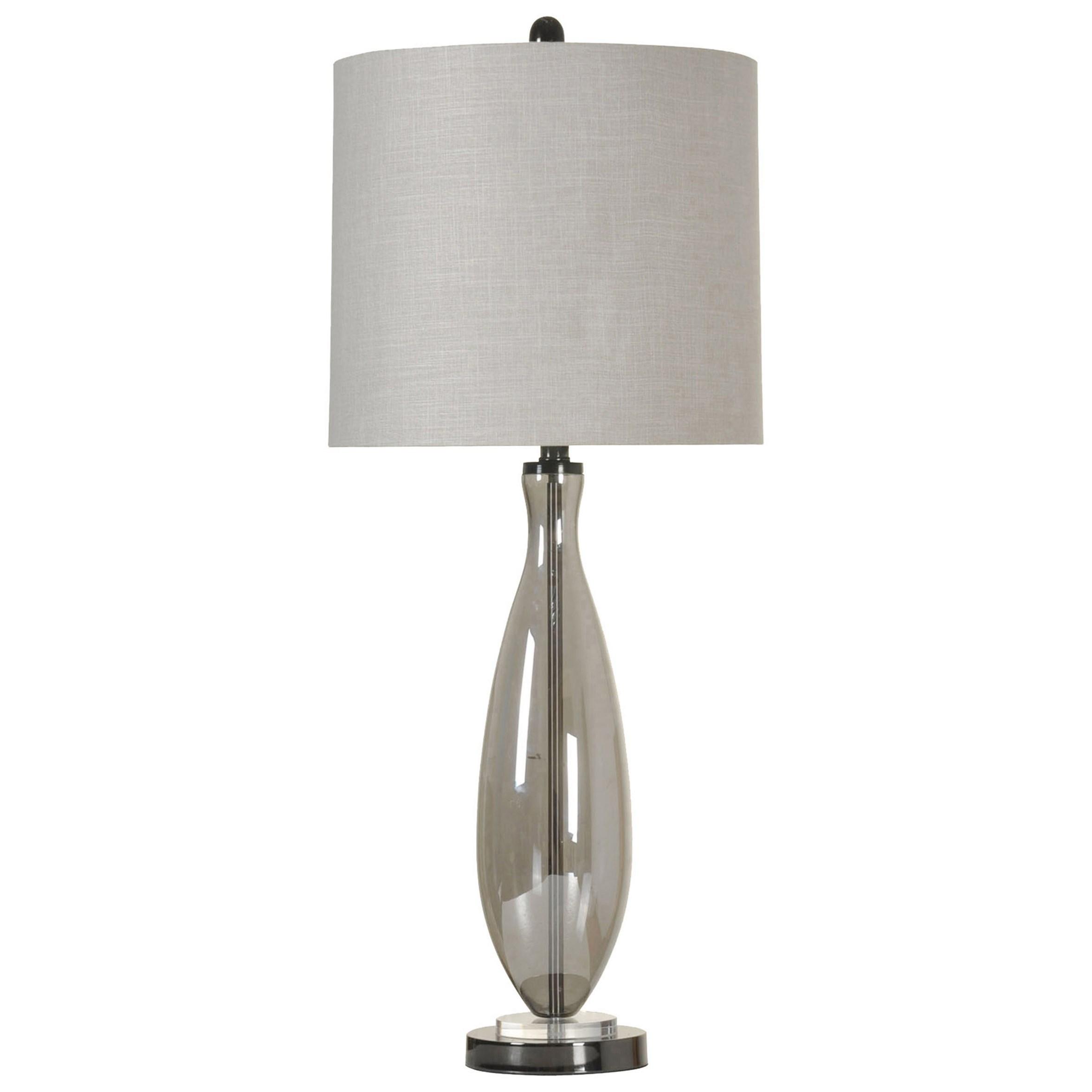 Lamps Smoke Glass Table Lamp at Ruby Gordon Home