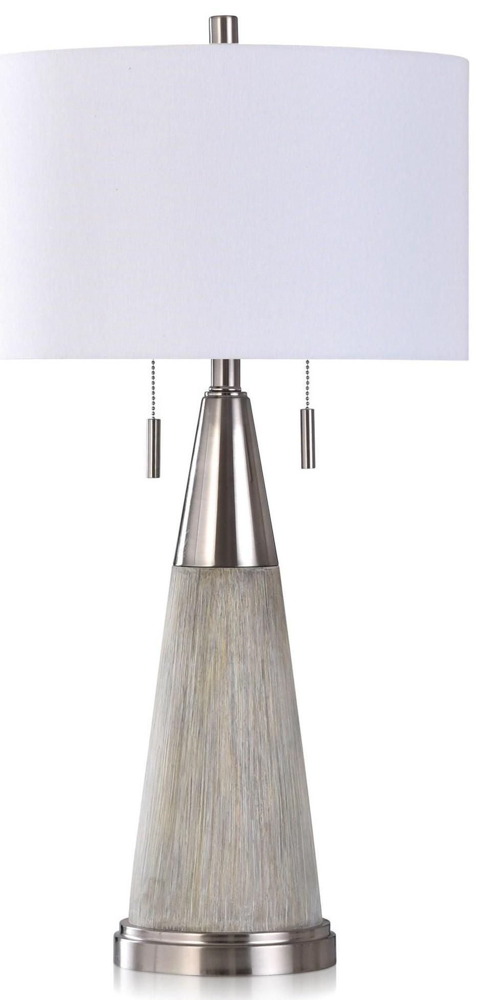 Lamps CIGLAR SILVER LAMP by StyleCraft at Furniture Fair - North Carolina