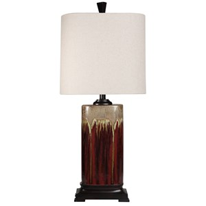 Classic Drip Glaze Ceramic Table Lamp