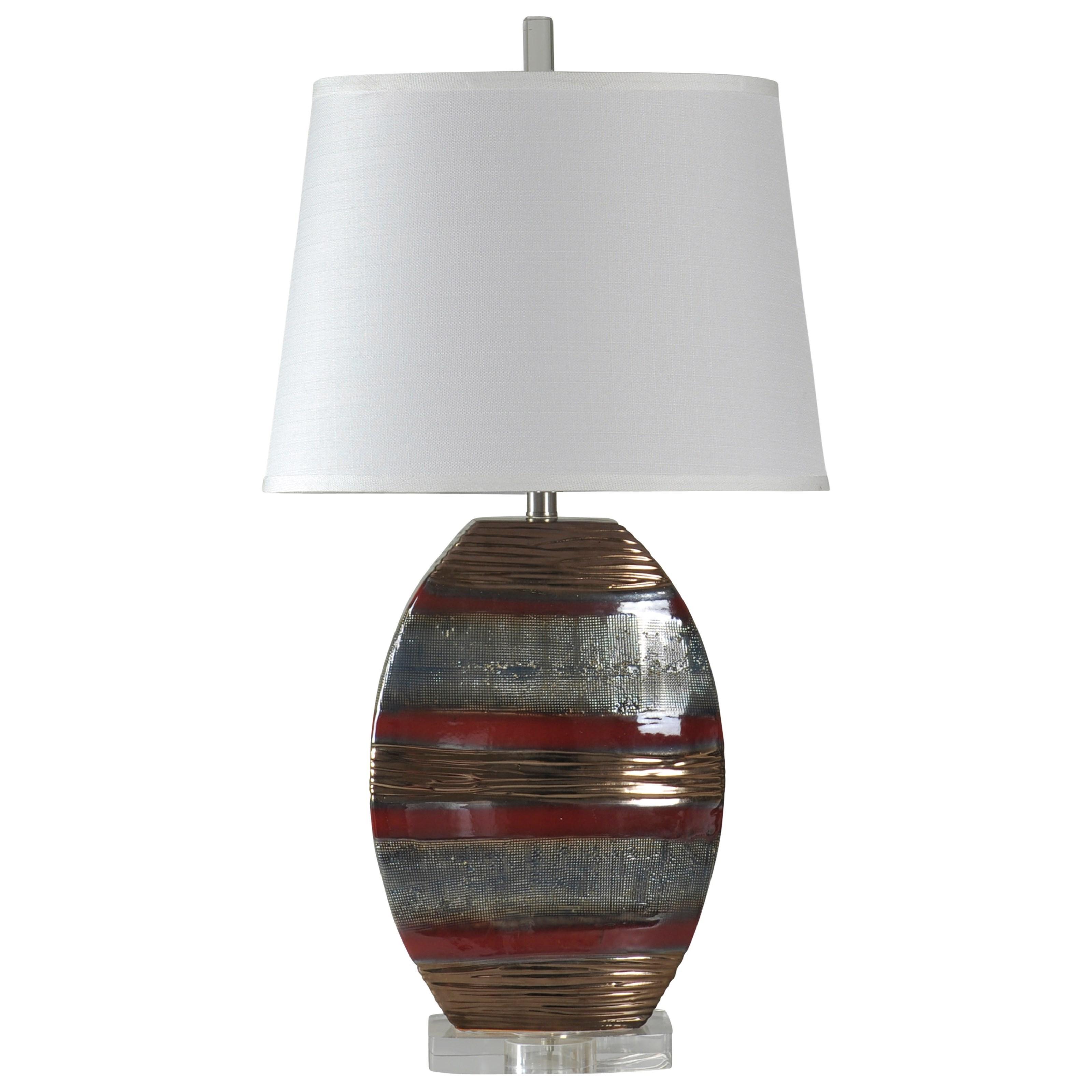 Lamps Earth Tone Ceramic Lamp at Ruby Gordon Home