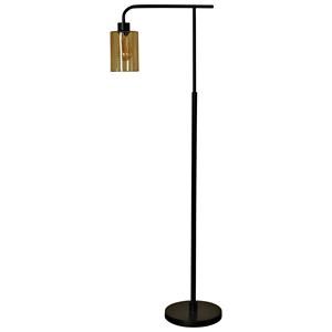 Edison & Bronze Metal Floor Lamp