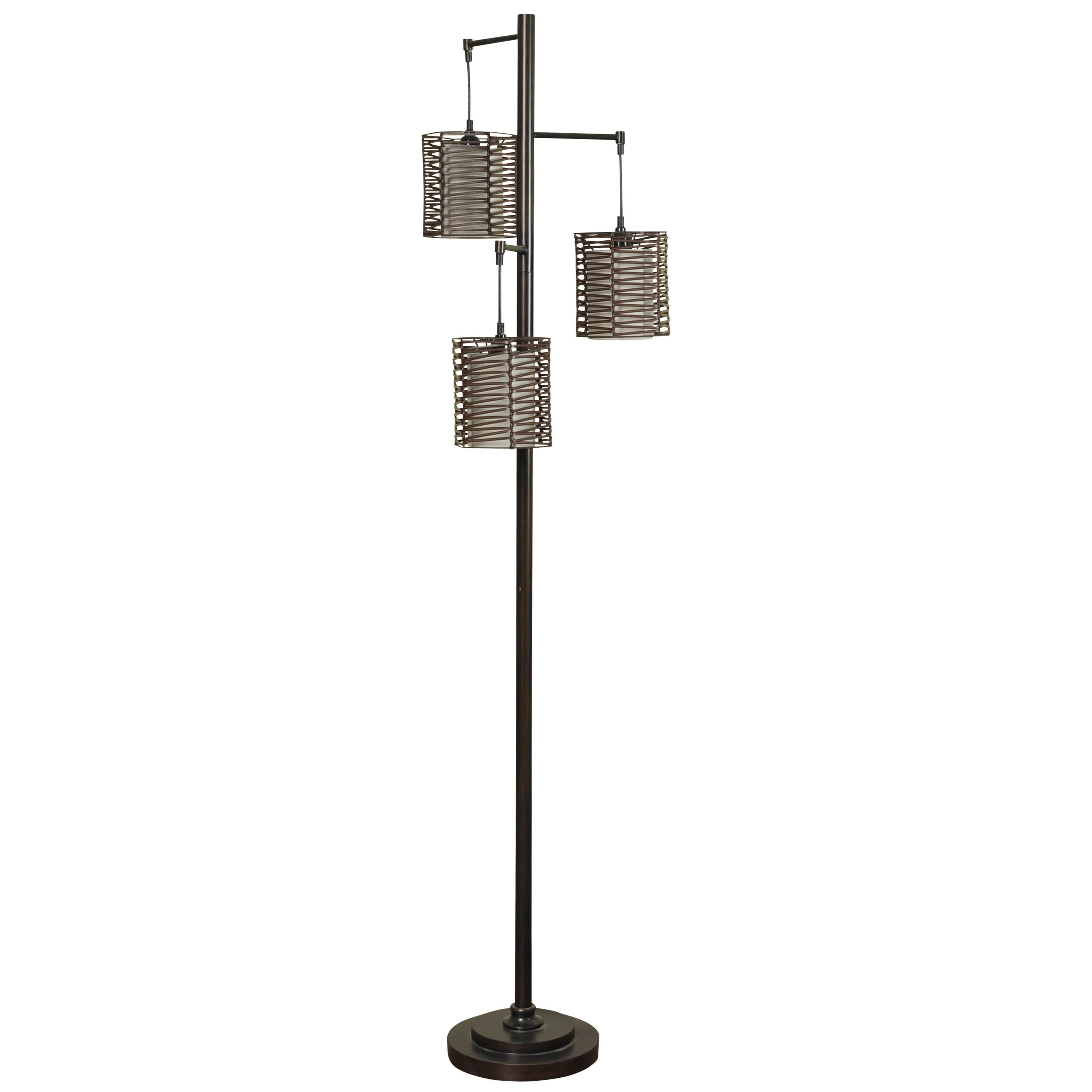 Lamps Contemporary Metal Floor Lamp at Ruby Gordon Home