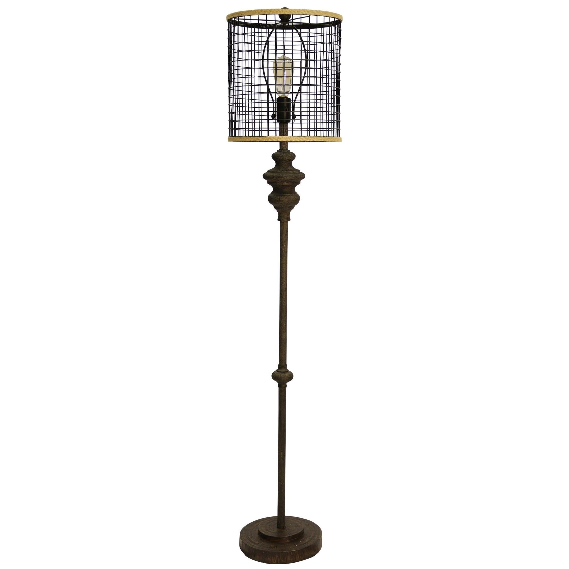 Lamps Industrial Floor Lamp by StyleCraft at Alison Craig Home Furnishings