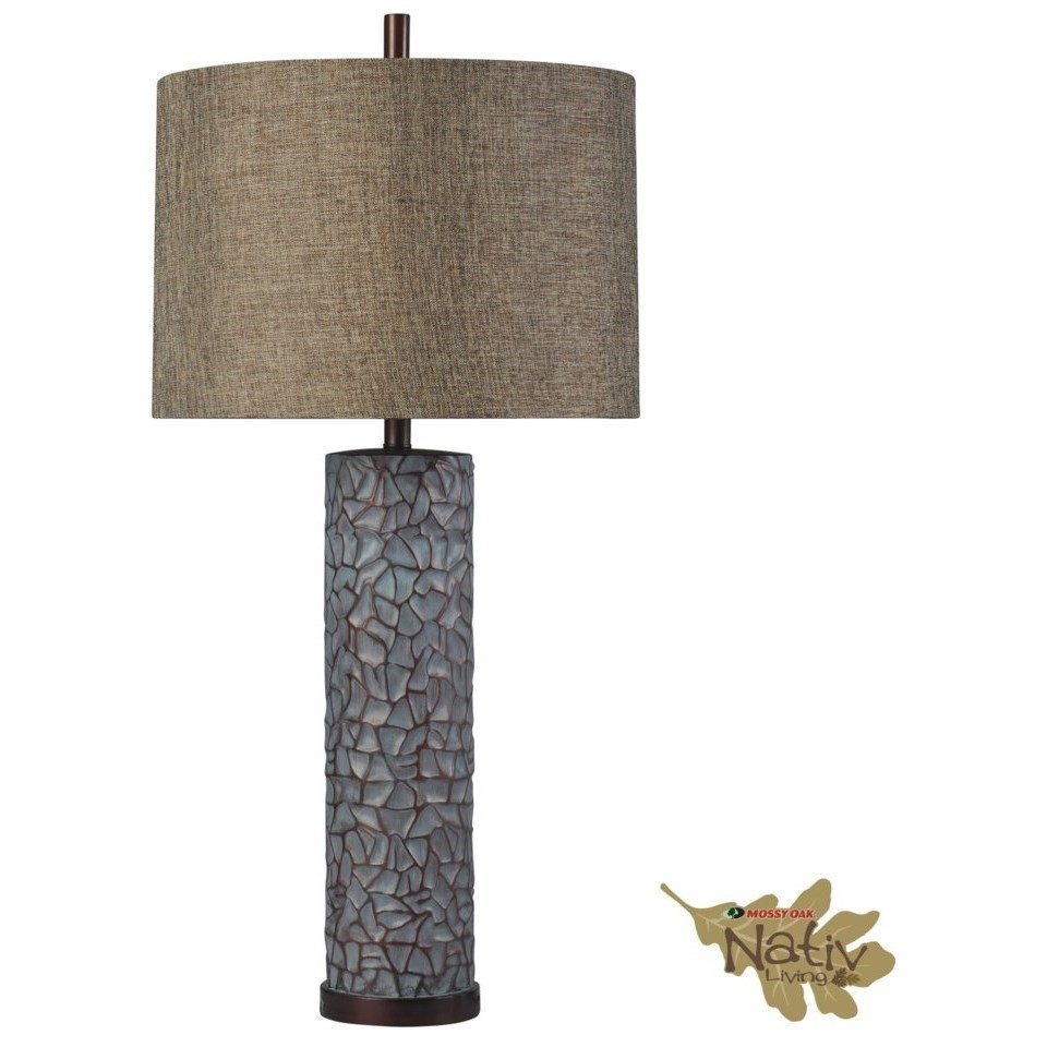 Lamps Northam Lamp by Mossy Oak by StyleCraft at Alison Craig Home Furnishings