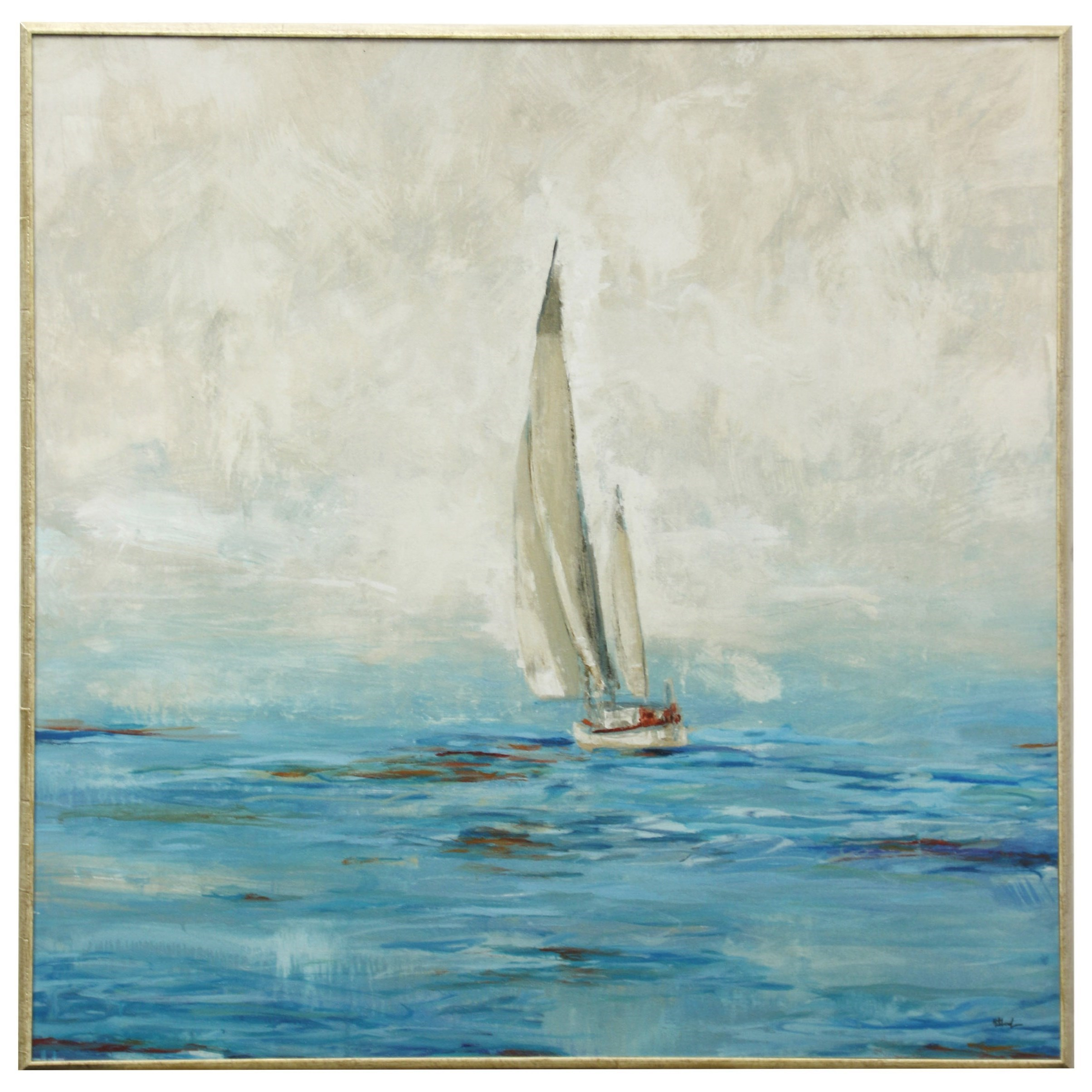 Wall Décor Sailboat Framed Wall Art by StyleCraft at Alison Craig Home Furnishings