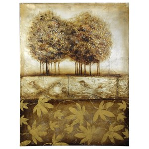 Hand Painted Canvas in Earthtones of The Landscape
