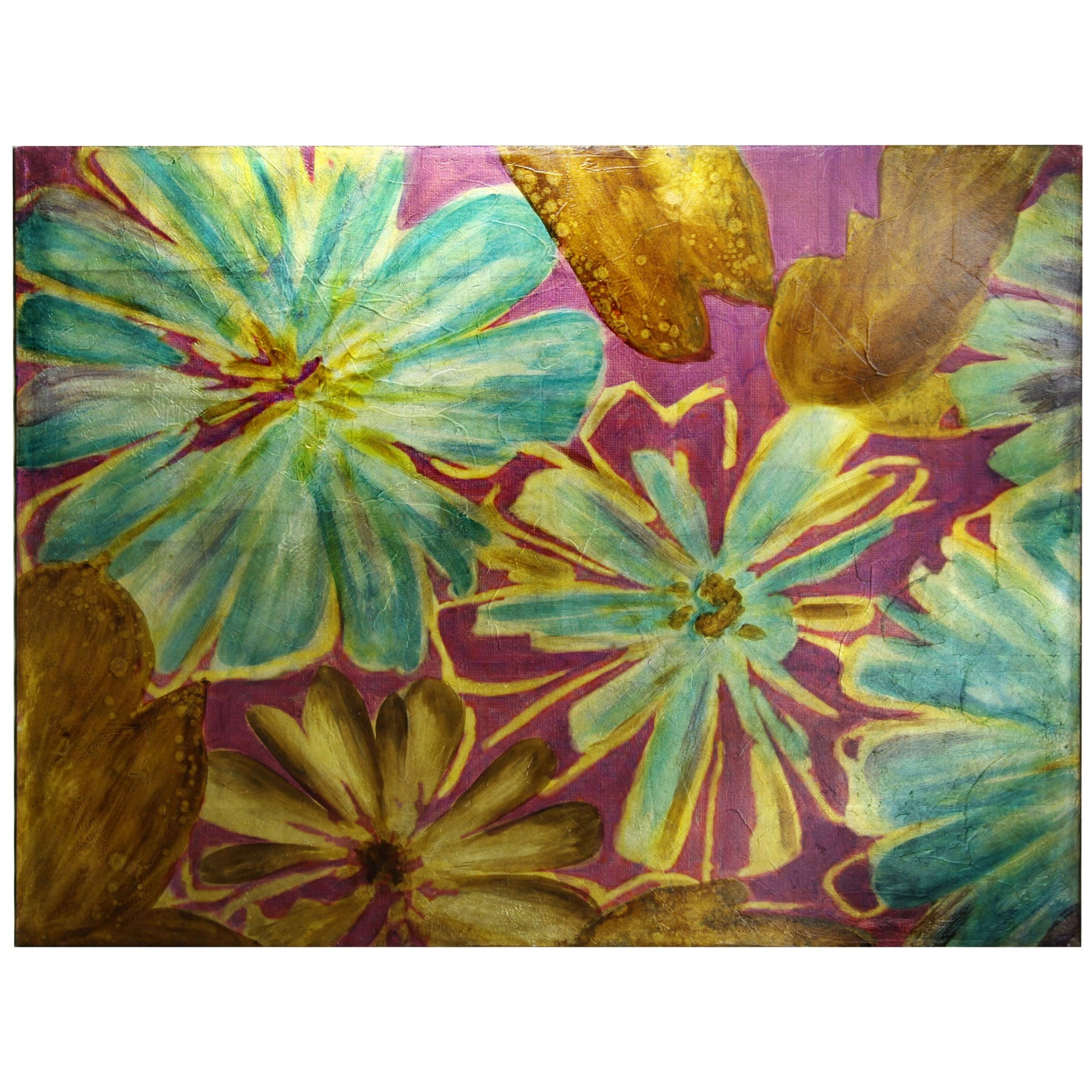 Wall Décor Hand Painted Canvas by StyleCraft at Alison Craig Home Furnishings
