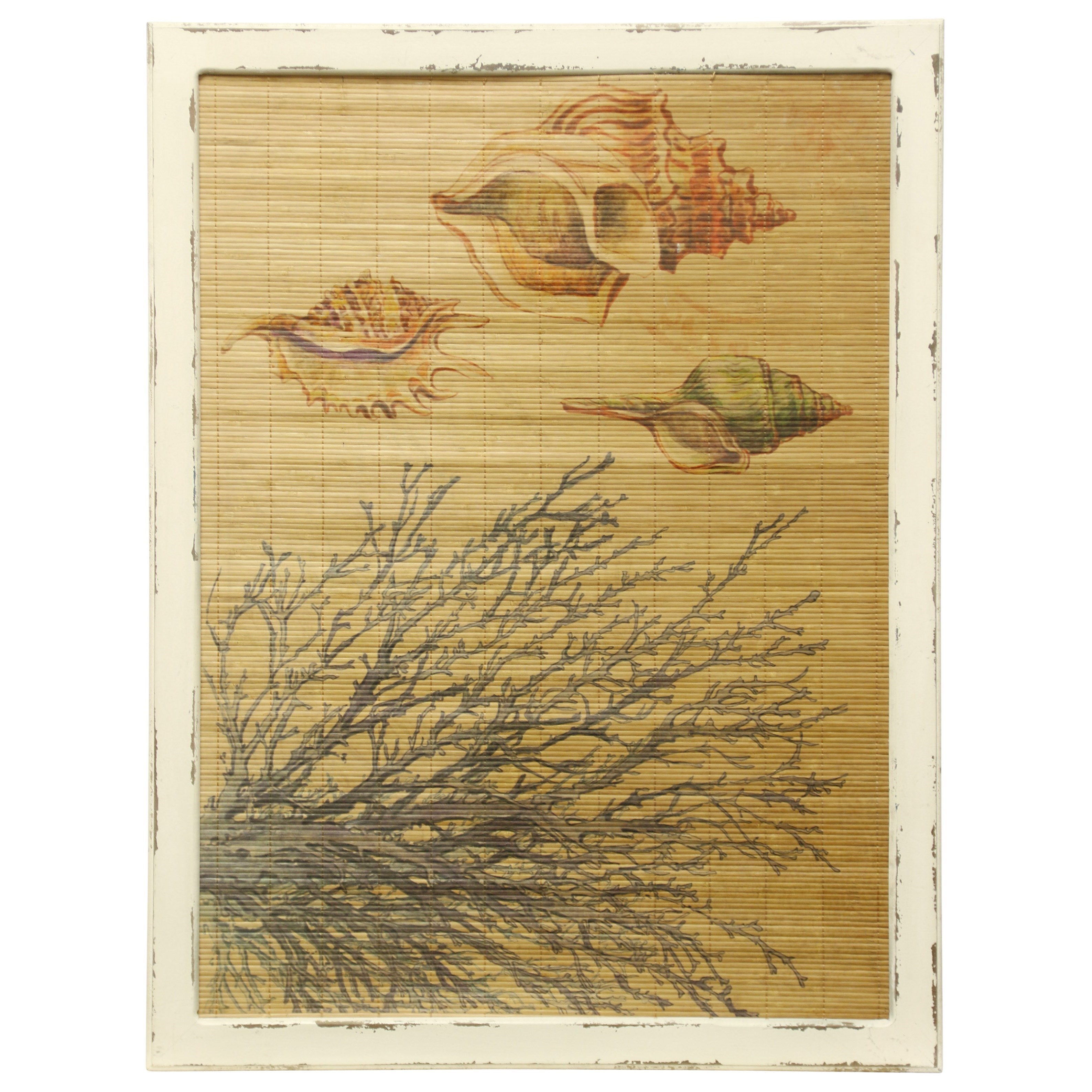 Wall Décor Bamboo Screen by StyleCraft at Alison Craig Home Furnishings