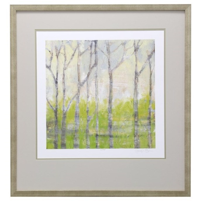 Wall Décor Birch Trees in Spring at Ruby Gordon Home