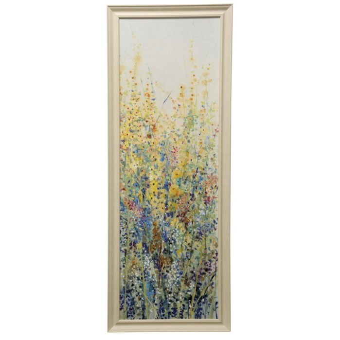 Wall Décor Wild Flower Panel III Print by StyleCraft at Alison Craig Home Furnishings