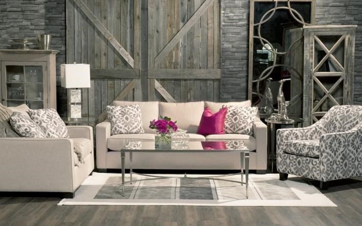 2424 Sofa by Lewis Home at Stoney Creek Furniture