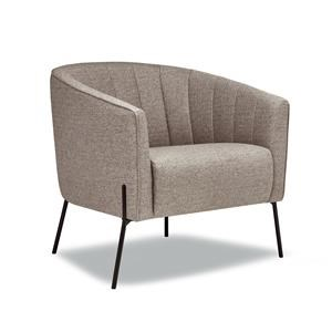 Accent Chair in Sylvester Fossil