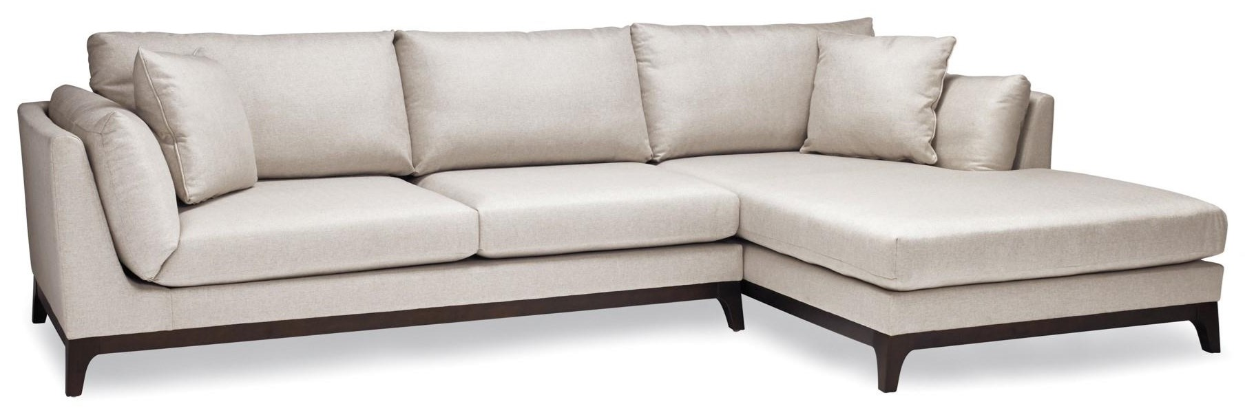 7256 2 Pc Sectional in candid Fleece by Lewis Home at Stoney Creek Furniture