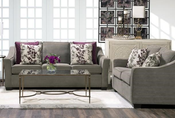 9840 Sofa by Lewis Home at Stoney Creek Furniture
