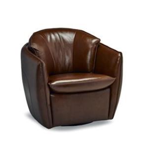Carlos Swivel Chair / Old Walnut