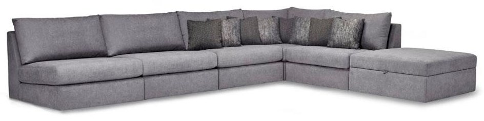 Chessa Sectional at HomeWorld Furniture