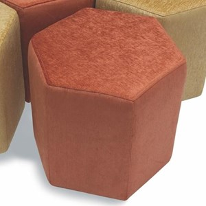 Six-Sided Accent Ottoman