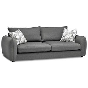 "Casual Contemporary 96"" Sofa"