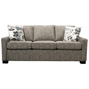 Contemporary Sofa with Casual Furniture Elegance