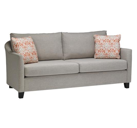 Nyah Contemporary Sofa by Stylus at Upper Room Home Furnishings