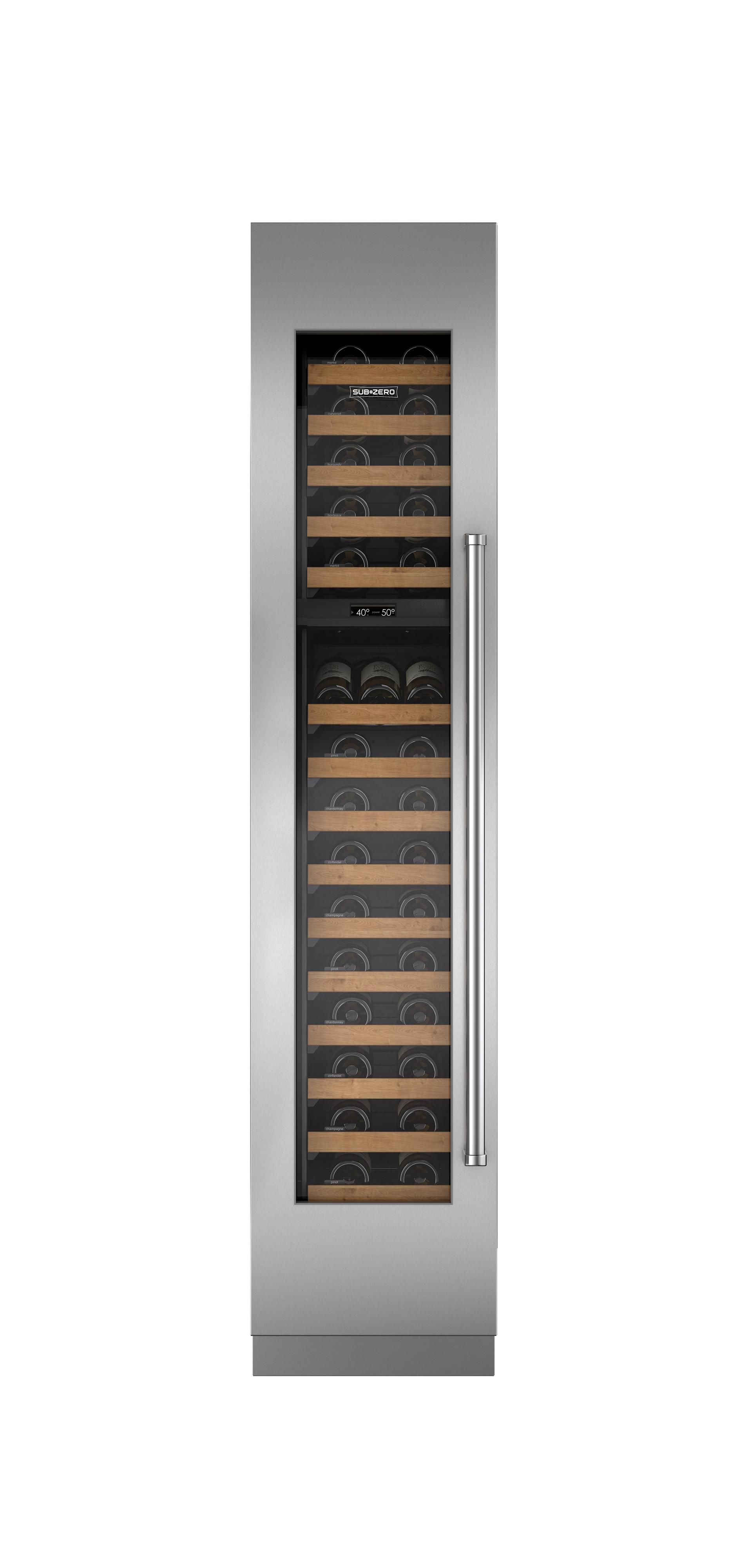 """Wine Storage 18"""" Integrated Wine Cooler by Sub-Zero at Furniture and ApplianceMart"""