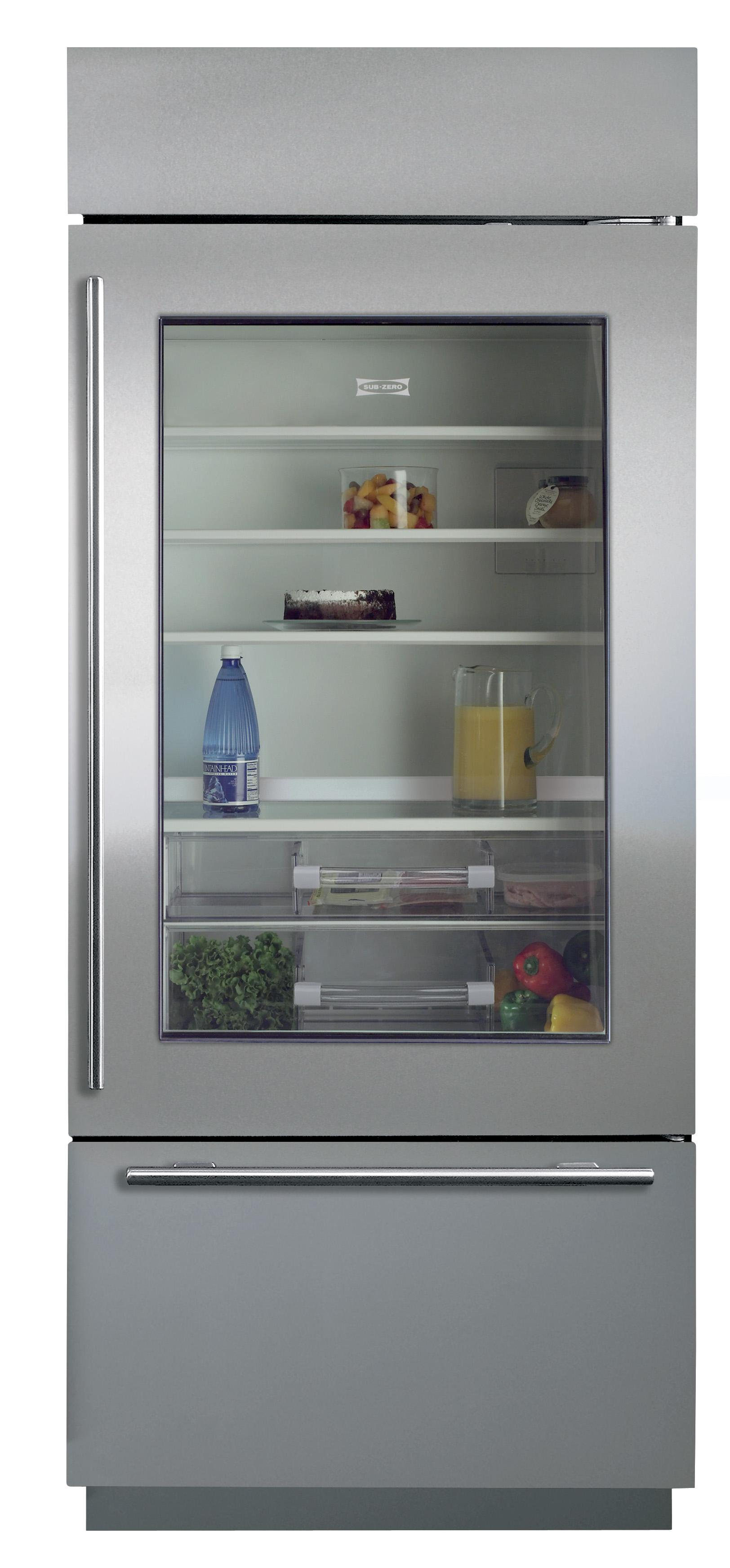 """Built-In Refrigeration 30"""" Built-In Over-and-Under Refrigerator by Sub-Zero at Furniture and ApplianceMart"""