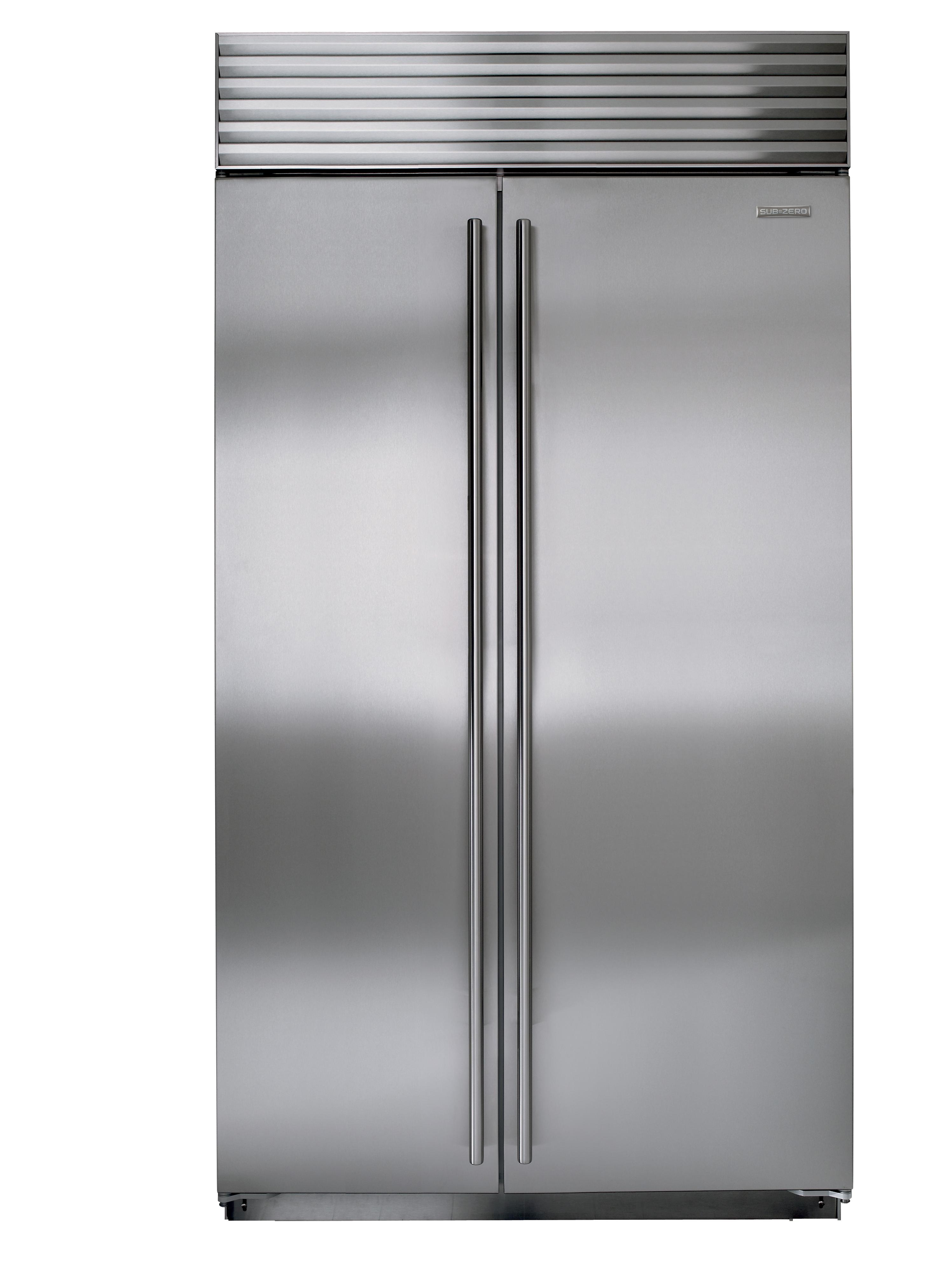 """Built-In Refrigeration 42"""" Side-by-Side Refrigerator by Sub-Zero at Furniture and ApplianceMart"""