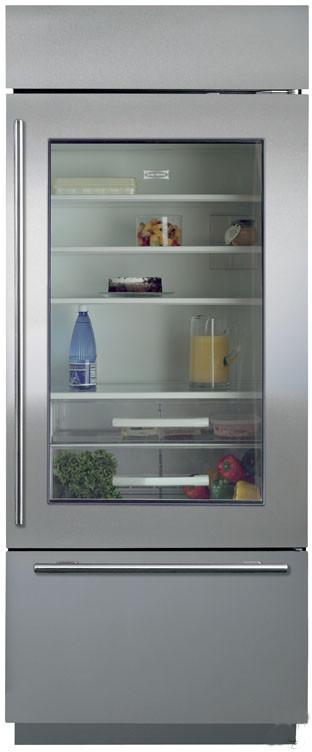 Built-In Refrigerators 16.8 Cu. Ft. Bottom Freezer Refrigerator by Sub-Zero at Furniture and ApplianceMart