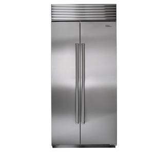 20.2 Cu. Ft. Built-In Side-by-Side Refrigerator with Air Purification System