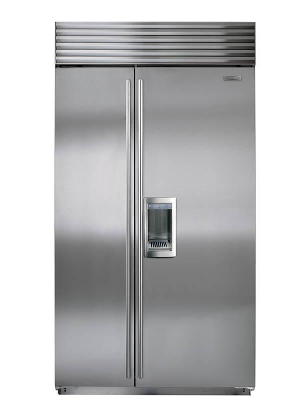 Built-In Refrigerators 24 Cu. Ft. Built-In Refrigerator by Sub-Zero at Furniture and ApplianceMart