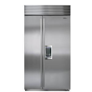 24 Cu. Ft. Built-In Side-by-Side Refrigerator with Dispenser