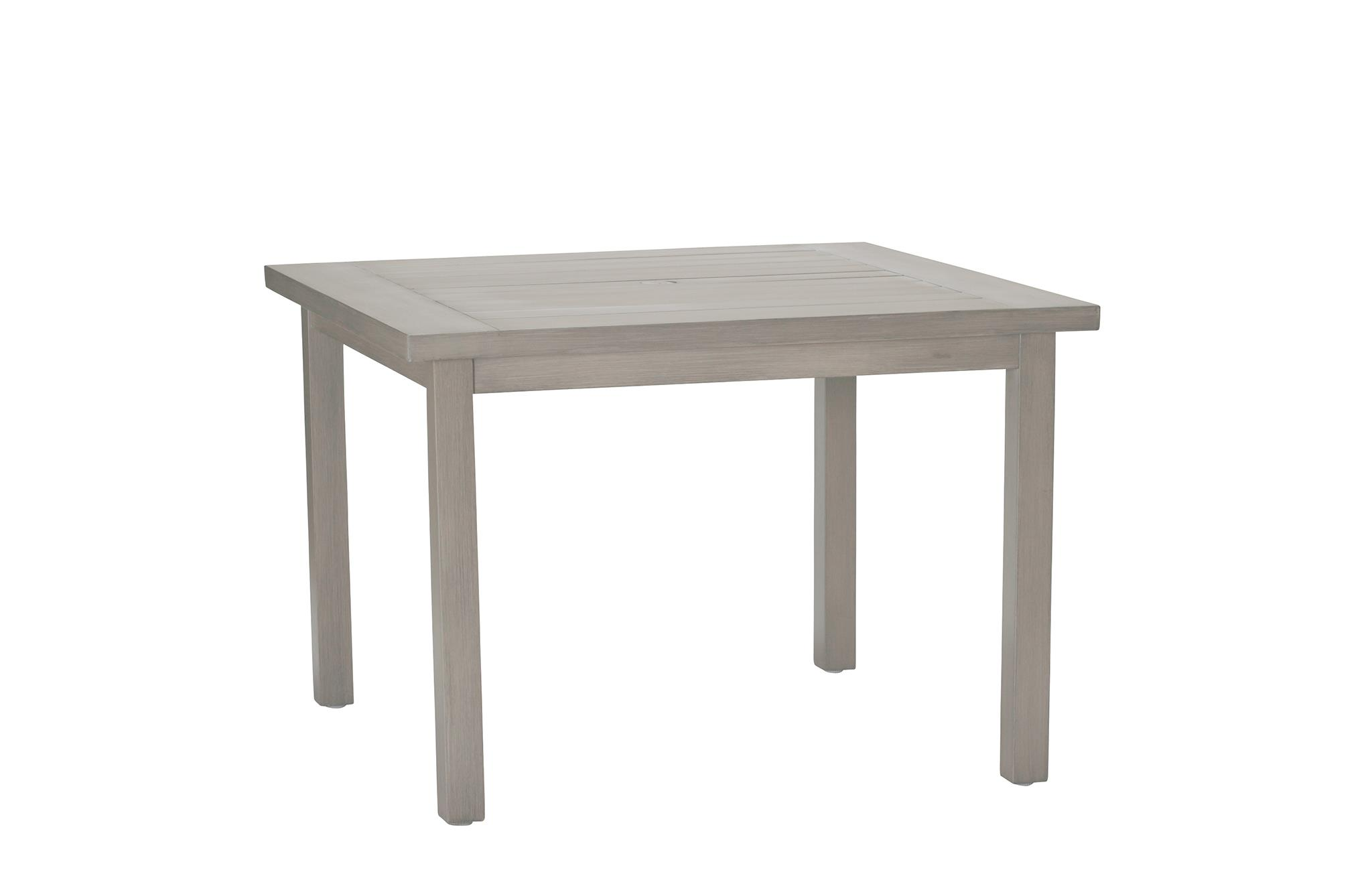 Club Aluminum Club Square Dining Table by Summer Classics at Story & Lee Furniture