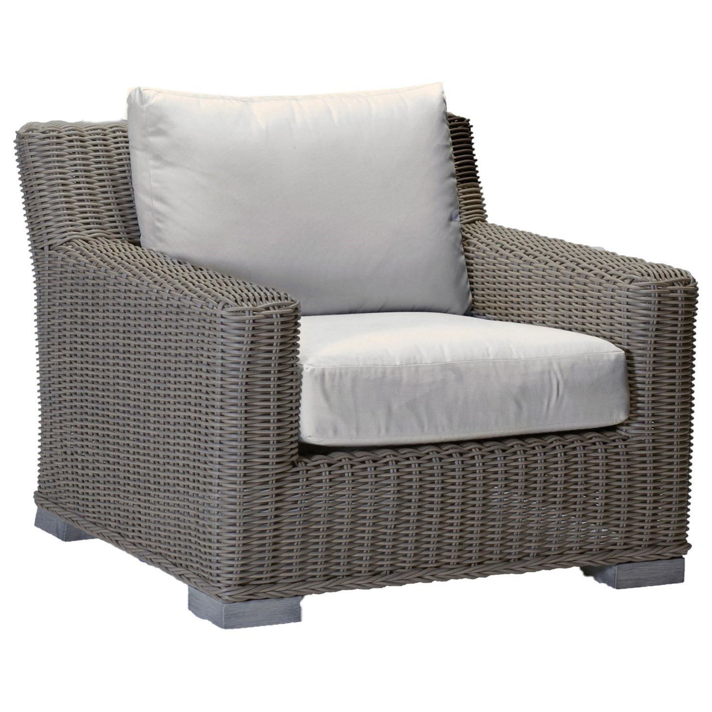 Rustic Rustic Lounge Chair by Summer Classics at Malouf Furniture Co.