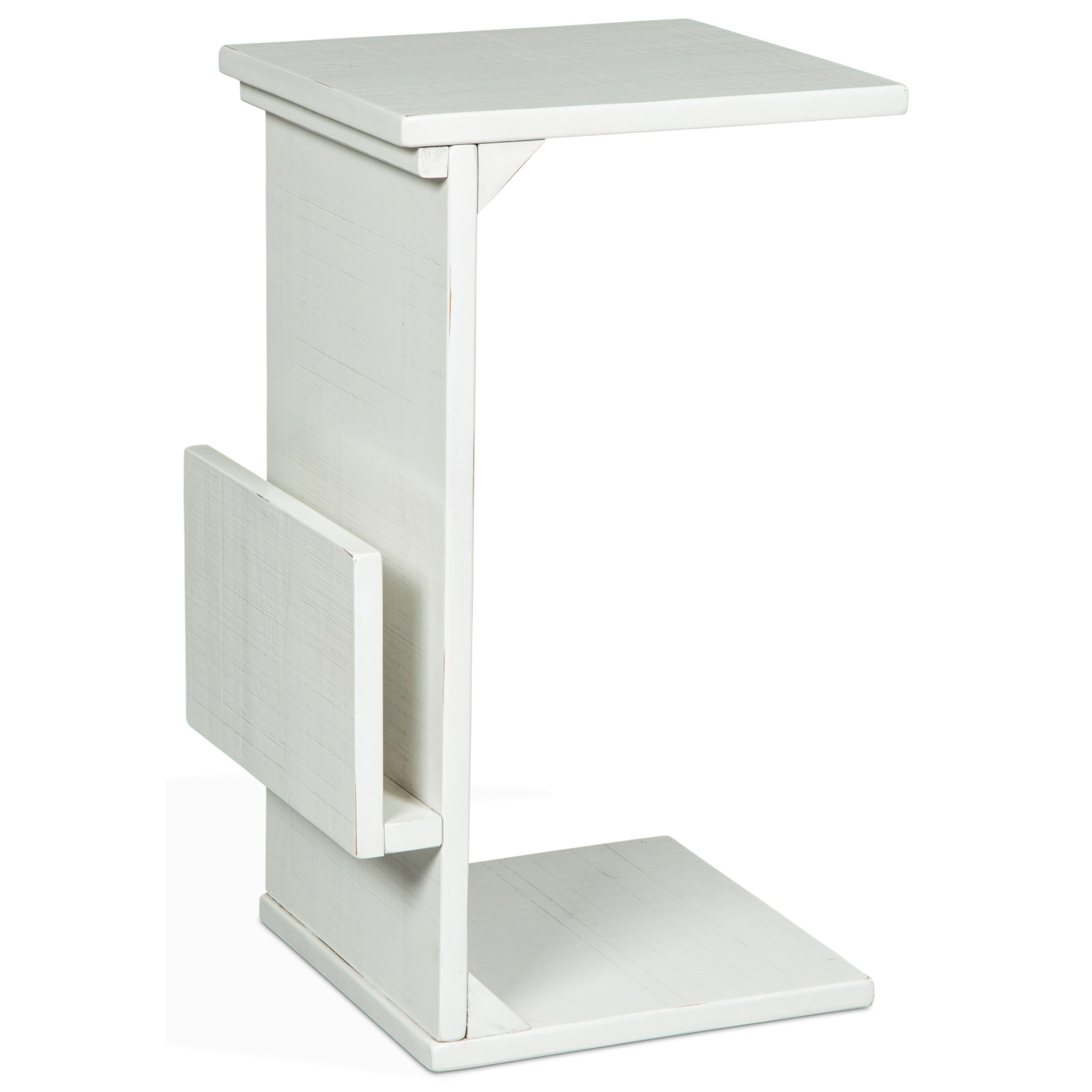 2029 Chairside Table w/ Magazine Rack by Sunny Designs at Wilson's Furniture