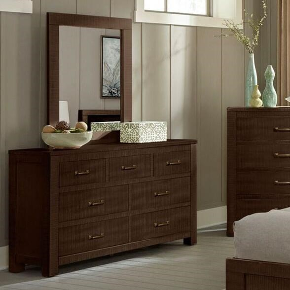 2319 Dresser and Mirror Set by Sunny Designs at Sparks HomeStore