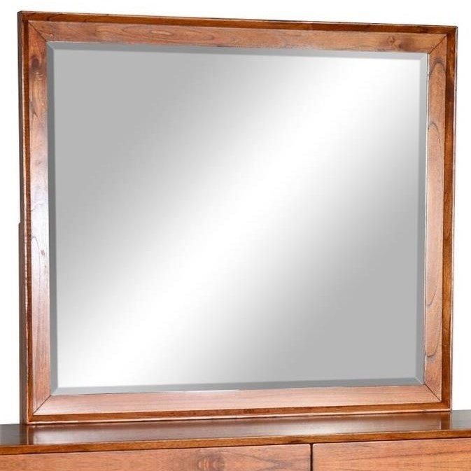 American Modern Mirror by Sunny Designs at Sparks HomeStore