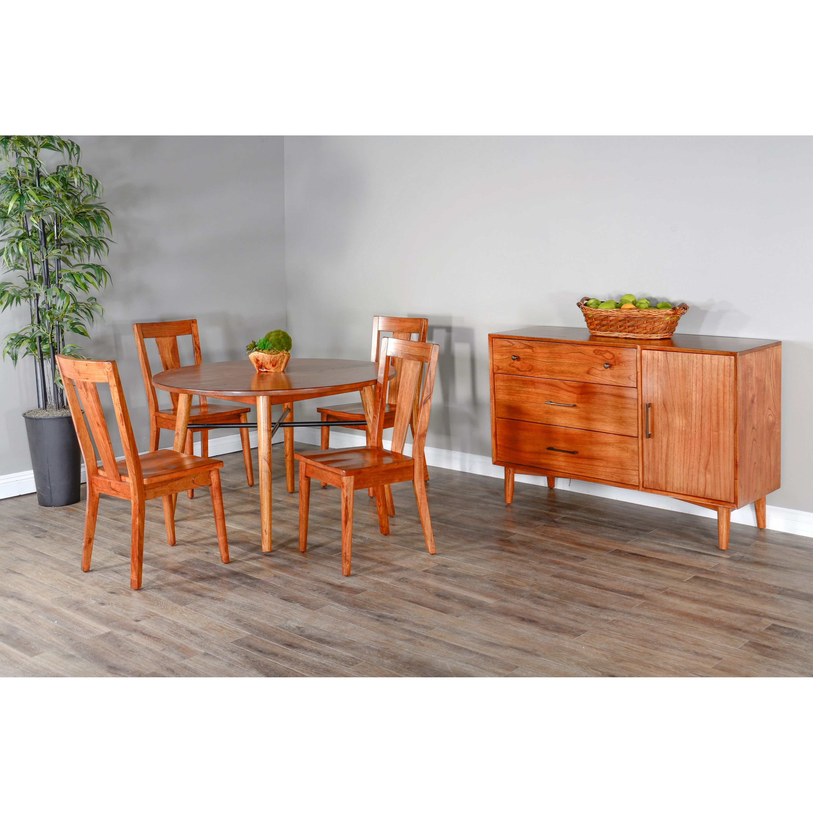 American Modern Dining Room Group by Sunny Designs at Home Furnishings Direct