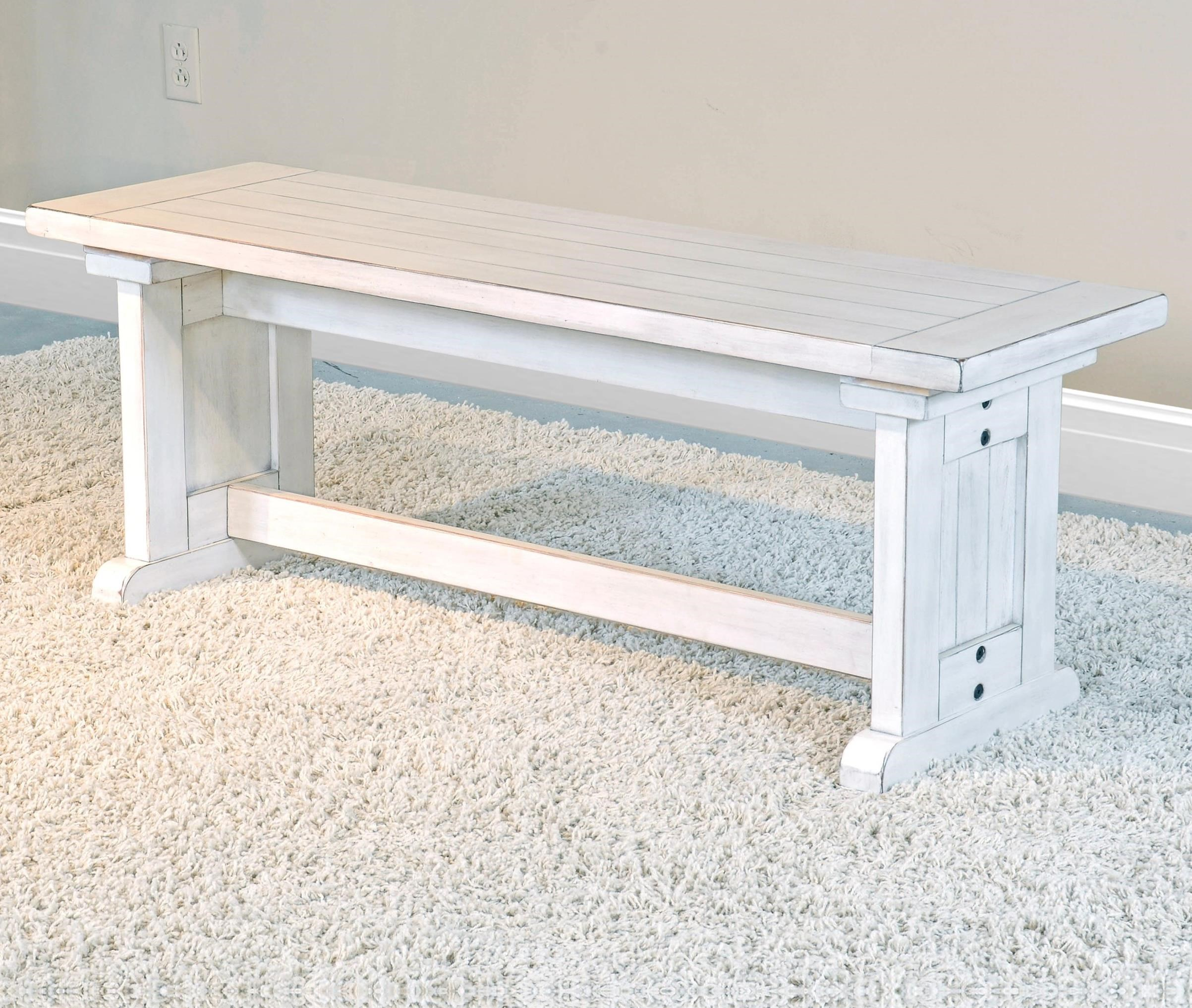 Bayside  Side Bench  by Sunny Designs at Sparks HomeStore