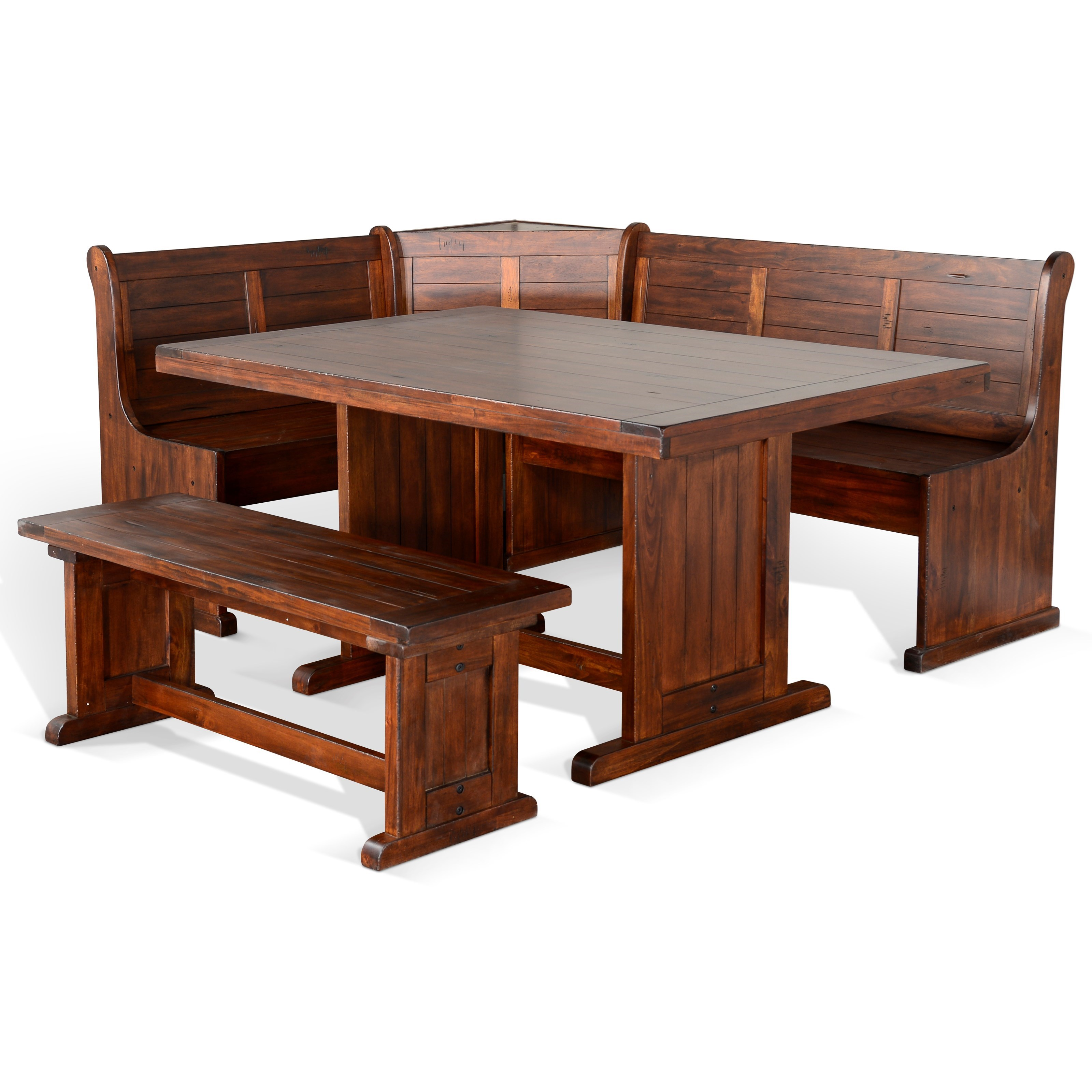 Bayside Breakfast Nook Set  by Sunny Designs at Sparks HomeStore