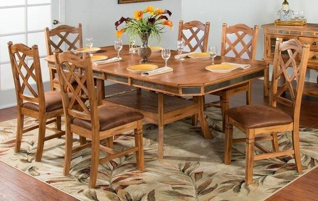 Belfast Belfast 5-Piece Dining Room Table Set by Sunny Designs at Morris Home