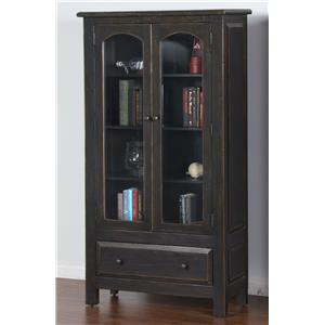 Sunny Designs Black 2 Door Display Cabinet
