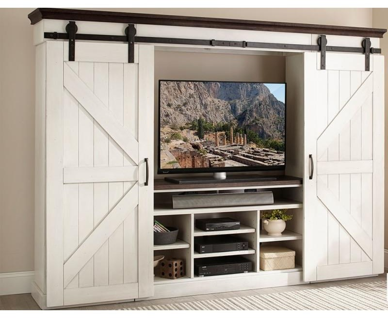 Bourbon County Entertainment Wall by Sunny Designs at Johnny Janosik