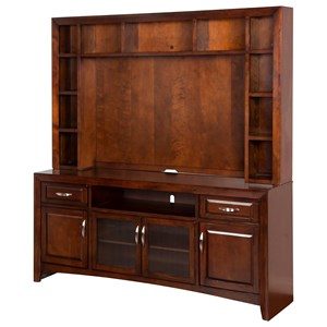 Wide TV Display Storage Cabinet